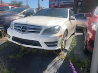 2012 MERCEDES C300 4MATIC NAV CAM PANROOF BLINDSPOT AMG SPORT PACKAGE! Toronto