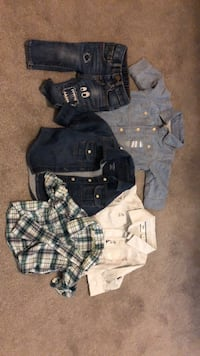Three Gap button-up shirts, jacket & jeans Alexandria, 22306