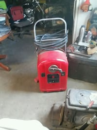 red and black pressure washer Igo, 96047