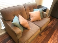 Loveseat with pillows Dallas, 75254