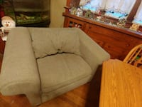 brown fabric 2-seat sofa Des Moines, 50316
