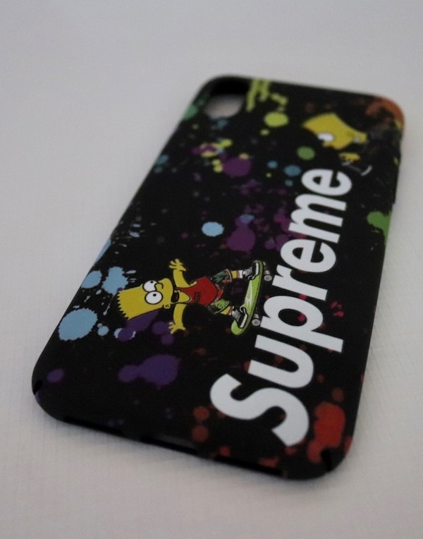 Used Supreme X Bart Simpson Iphone X/XS Case For Sale In Taylors