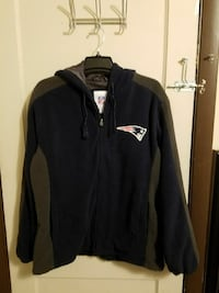 Patriots jacket with hood