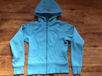 Lululemon blue zip up Medicine Hat