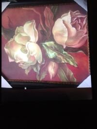 3 Flower picture Decore new
