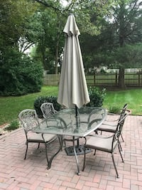 gray and black patio set Derwood, 20855