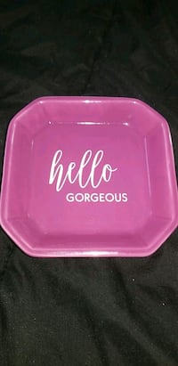 "Purple ""Hello Gorgeous"" Jewelry dish Holdenville, 74848"