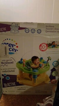 Exercaucer Zoo Friends Baby Bouncer