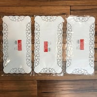 NEW 90 Rectangle Paper Lace Doiles