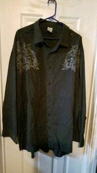 Black,gray button up skirt Mens 4XB Spokane, 99207