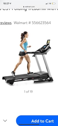 New proform 505 cst folding treadmill with power incline Columbus, 43016