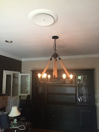 Circular chandelier.  High quality, very sturdy and heavy Cherry Hills Village, 80113