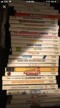 Ps3 ps2 wii and Xbox games Surrey, V3S 8A3