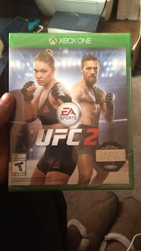 UFC 2 Xbox One game case Pittsburgh, 15227