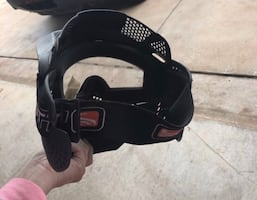 LIKE NEW PAINTBALL MASK & HOLDER