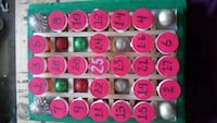 Refillable handcrafted advent calendar Mississauga, L4Z 1H7