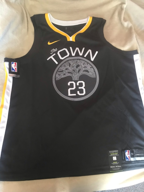 brand new 789f2 fa89c WARRIORS The Town #23 Draymond Green Basketball Jersey