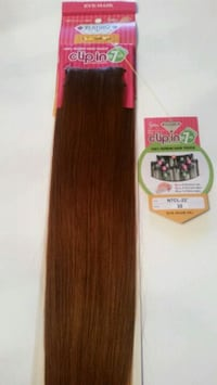 Medium Auburn #30 Hair extensions