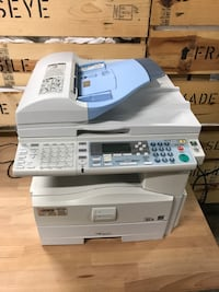 Ricoh MP-161SPF copier. Black and white wired laser printer West Palm Beach, 33401