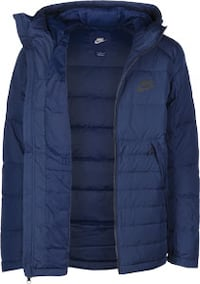 Blue NIKE Down Jacket Vancouver
