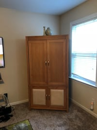 Matching Entertainment Center w/ Matching Storage Cabinet Douglasville, 30135