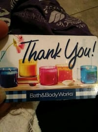 Bath and body works gift card value on it 20 dolla Ogden, 84401