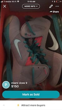 pair of gray Nike basketball shoes screenshot Kensington, 20895