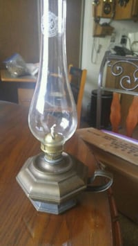Solid Brass Oil lamp