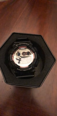 round black Casio G-Shock digital watch Temescal, 92883