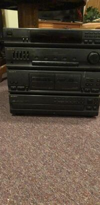 black Sony DVD player with remote Woodsboro, 21798