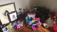 Toddler's assorted toys,frames lamp shades plants used clothes  Mc Lean, 22101