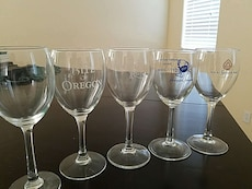 5 wine glasses for 5 bucks!!