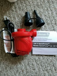Brand new coleman air pump New Westminster, V3L