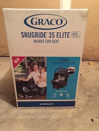 Used Graco Snugride 35 Elite Infant Car Seat For Sale In Stratford