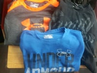 blue and black crew-neck shirts Welland, L3B 4C5