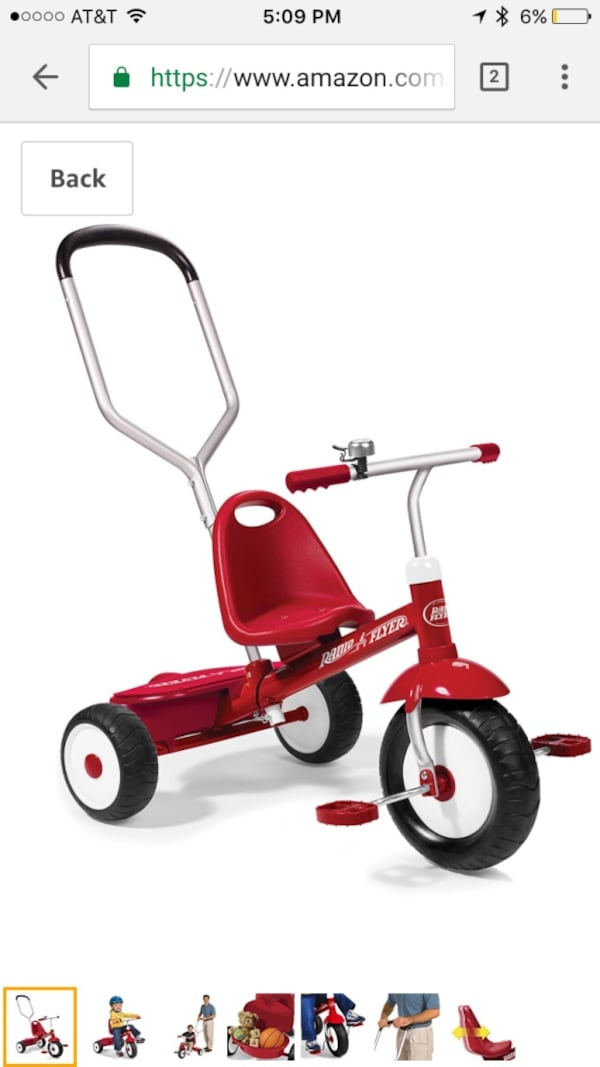 Radio flyer deluxe steer and stroll 7bfbdffd-6044-459d-a733-c22961d4a440