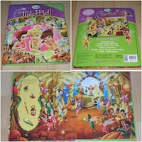 """Tinkerbell First Look and Find Book (large 12"""" x 10"""" size)  Surrey"""