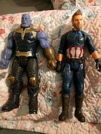 Thanos and Captain America figures Martinsburg, 25404