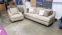 Fabric sofa and chair Mississauga, L4X 1R1