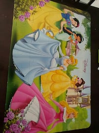 Disney Princess themed puzzle