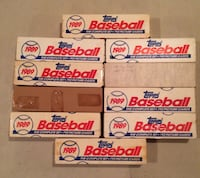 Ten Complete 1989 Topps Baseball Card Sets. Northport, 11768