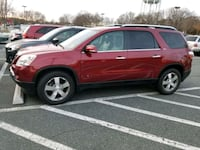 Red 5-door hatchback 2009 GMC Acadia SLT-1 67,000  Woodbridge, 22193