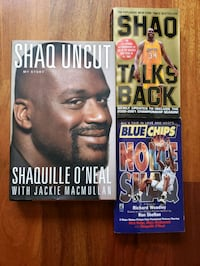 3 Shaquille O'neal Lakers NBA basketball books  Gresham, 97030