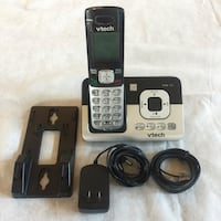 black and gray Vtech wireless telephone Grapevine, 76051