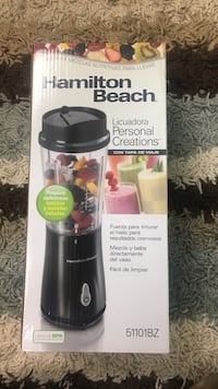 black Hamilton Beach blender box