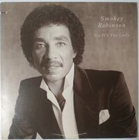 SMOKEY ROBİNSON(YES İT'S YOU LADY)33'LÜK PLAK