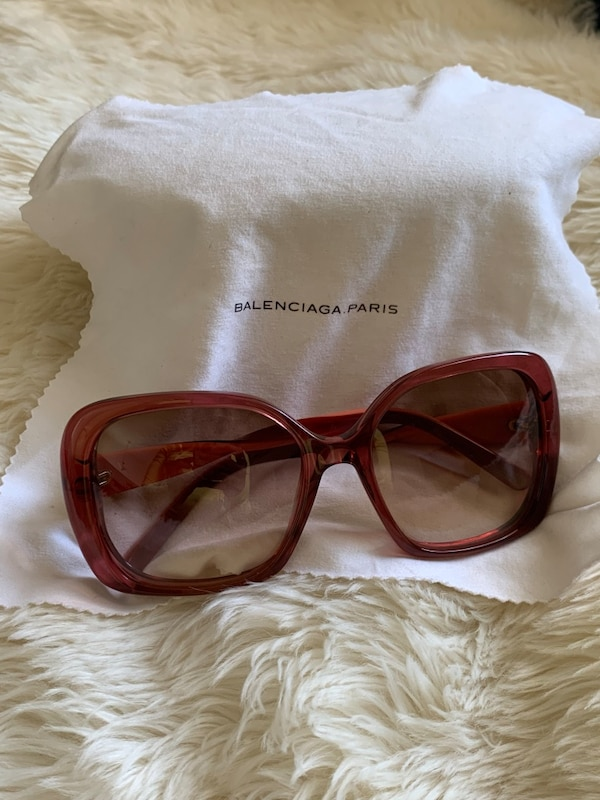 c12c77f4c9d3 Used Balenciaga Red Sunglasses for sale in West Palm Beach - letgo