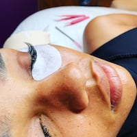 Beauty services lashes Washington