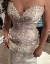 Winnie Couture Wedding Dress Size 12 Falmouth, 22405