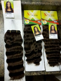 SYNTHETIC HAIR Bundles Fort McMurray, T9H 4K1